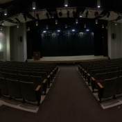 O'Donnell Auditorium Panorama- Whitlock Building