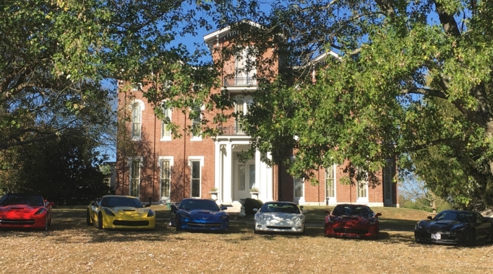 White Hall with Corvettes
