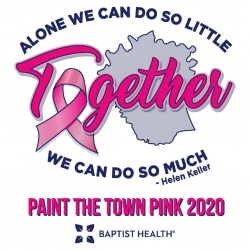 2020 Baptist Health Richmond Paint the Town Pink
